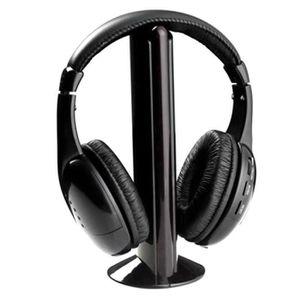 CASQUE - ÉCOUTEURS Casque sans fil écouteurs pour PC TV Radio  Mon122