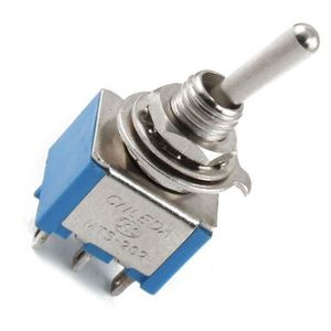 INTERRUPTEUR ÉLECTRO. CA 3A - 250V 6A - 125V 6 broches DPDT On - On Inte