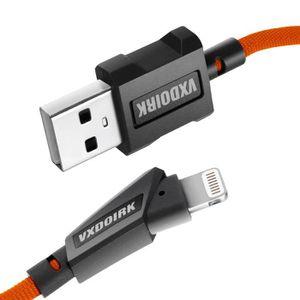 CÂBLE TÉLÉPHONE Vxdoirk - Câble de charge rapide, certification iP
