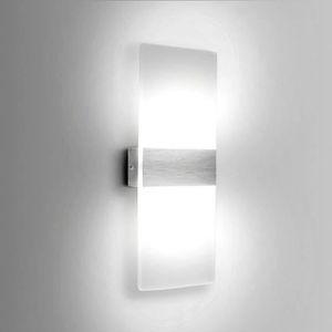 APPLIQUE   6W Moderne Aluminium LED Applique Murale Interieu
