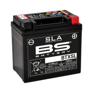 BATTERIE VÉHICULE Batterie BS BATTERY BTX5L SLA sans entretien activ