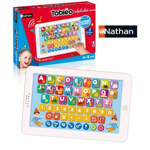 JEU CONSOLE EDUCATIVE Nathan - Jeu électronique - Tabléo - Alphabet