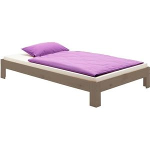 FUTON Lit futon THOMAS couchage simple 90 x 190 cm 1 pla