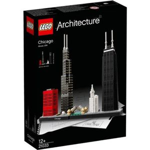 ASSEMBLAGE CONSTRUCTION LEGO Architecture 21033