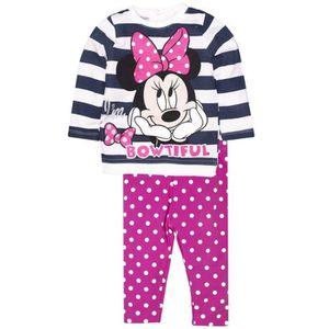 Ensemble de vêtements Ensemble bébé fille MINNIE disney legging + top
