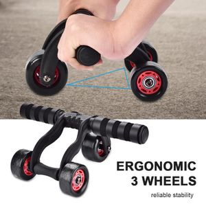 ENTRETIEN MACHINE FITN. Roller Fitness Exerciseur Abdominal Ab 3 roues PRO