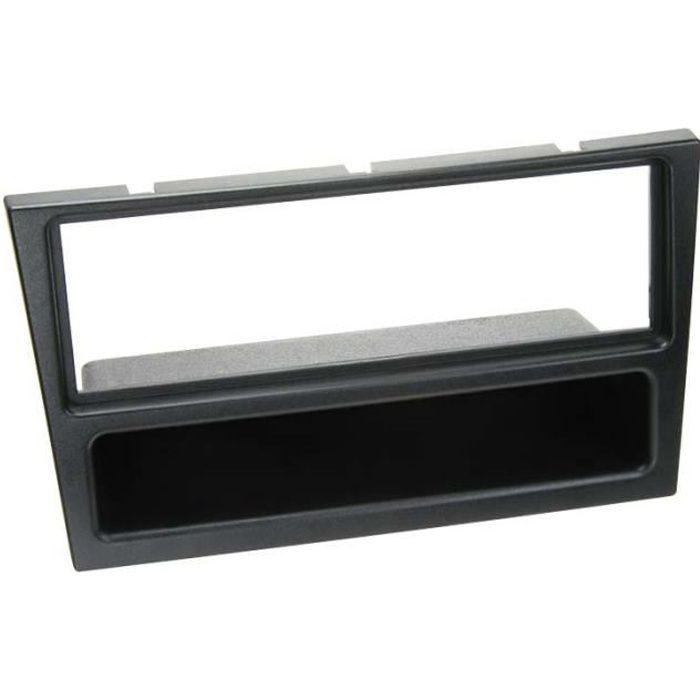 Adaptateur de façade 1-DIN avec vide poche Opel / Renault / Suzuki noir
