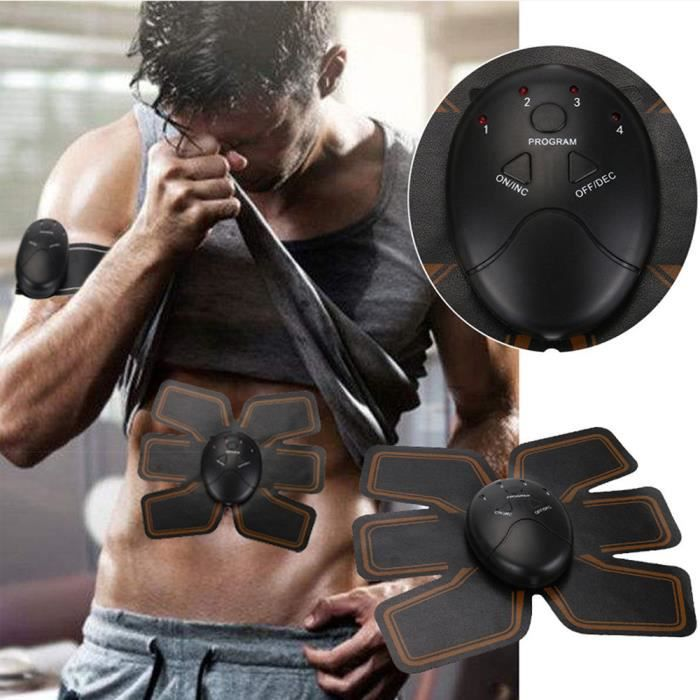 Magic EMS Muscle Training Gear ABS Trainer Fit Body Home Exercise Shape Fitness QXH71116082_Lavi