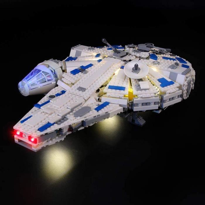Jeux de construction LIGHTAILING Jeu De Lumières pour (Star Wars Le Faucon Millenium du Raid de Kessel) Modèle en Blocs 52787
