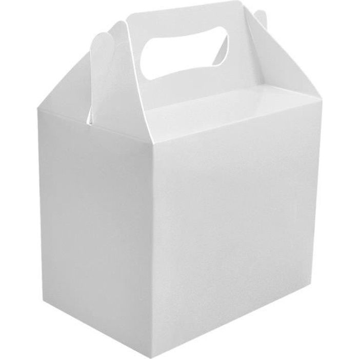 Boîte en carton pour le déjeuner