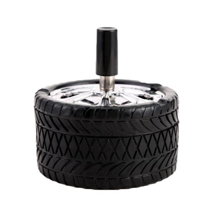1pc cendrier en acier inoxydable pneus design bureau personnalité durable pour PERSONNALISATION VEHICULE-DECORATION VEHICULE