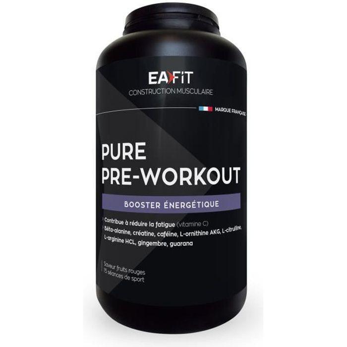 EAFIT Pure Pre-Workout - Fruits rouges - 330 g