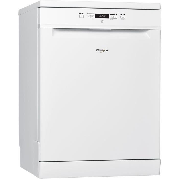 WHIRLPOOL WFC3C26P - Lave vaisselle posable - 14 couverts - 46 dB - A++ - Larg 60 cm