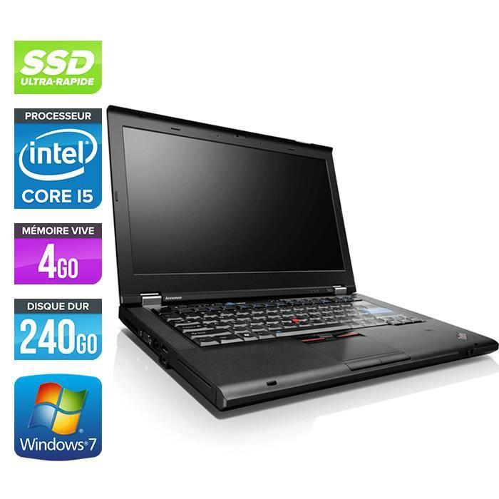 Lenovo T420 Core i5 2,50Ghz 4Go 240Go Ssd