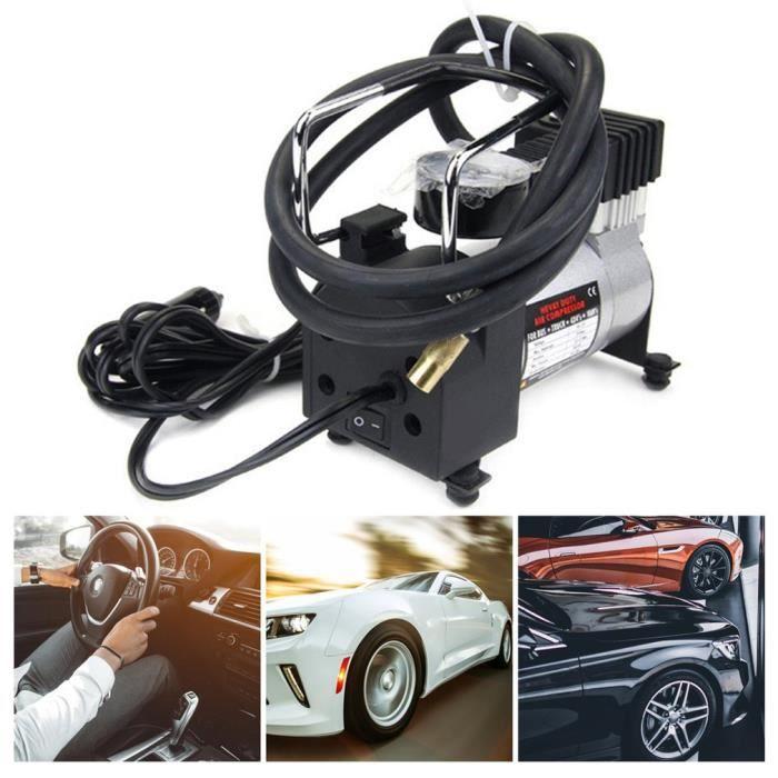 nouveau mini compresseur d'air portable pompe à eau électrique infaltor 12 volts voiture 12v psi