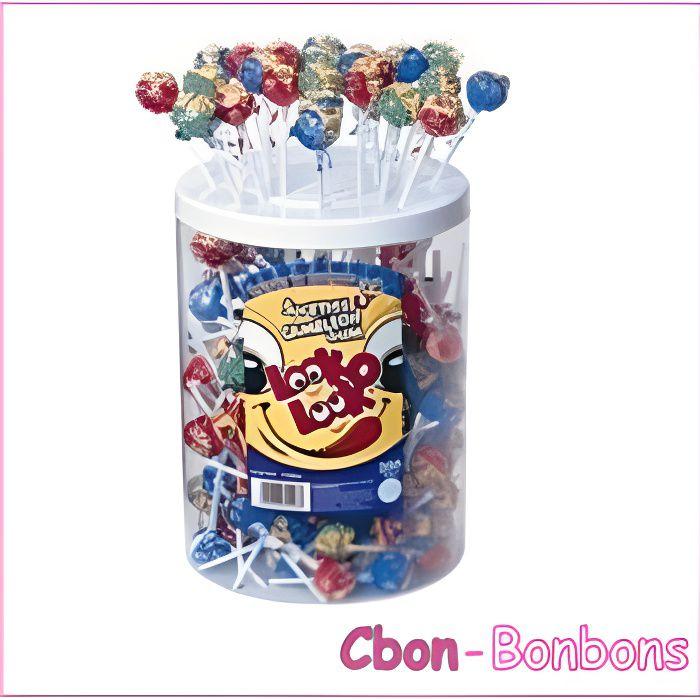 Bonbon Sucette Caméléon Gum boîte de 200 sucettes