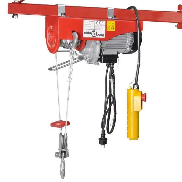 Palan électrique 1000 W 200-400 kg