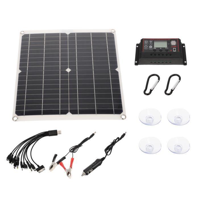 1 Ensemble de chargeur de panneau solaire d'équipement kit photovoltaique - kit solaire genie thermique - climatique - chauffage