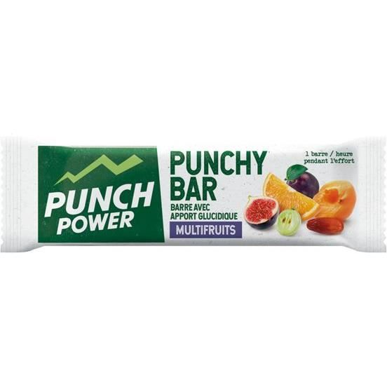 PUNCH POWER Punchy Bar Multifruit - Barres 30 g