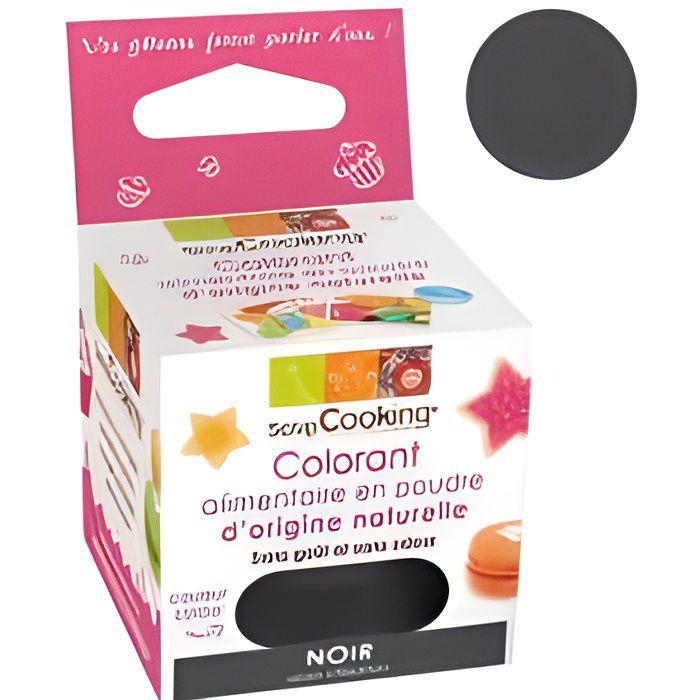 SCRAPCOOKING - Colorant alimentaire naturel noir