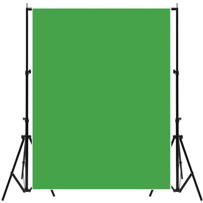 TEMPSA Fond de Studio Vert Photographie Toile