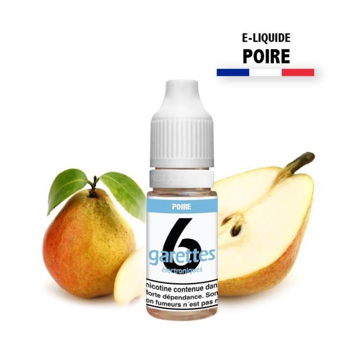 E-liquide 10ML saveur POIRE sans nicotine (e-liquide id : PROD46) - (1x10ML)