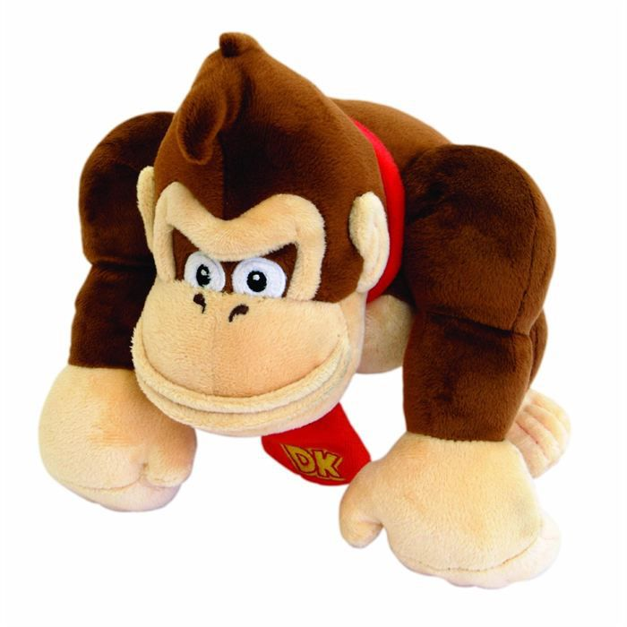 mario peluche mario bros 24cm small donkey kong achat vente peluche cdiscount. Black Bedroom Furniture Sets. Home Design Ideas
