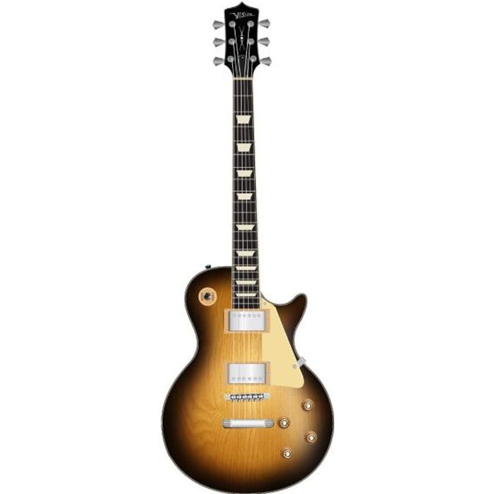 guitare electrique sunburst type les paul avec pas cher. Black Bedroom Furniture Sets. Home Design Ideas