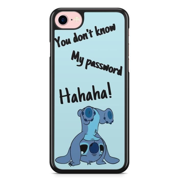 coque iphone 7 plus et iphone 8 plus stitch drole