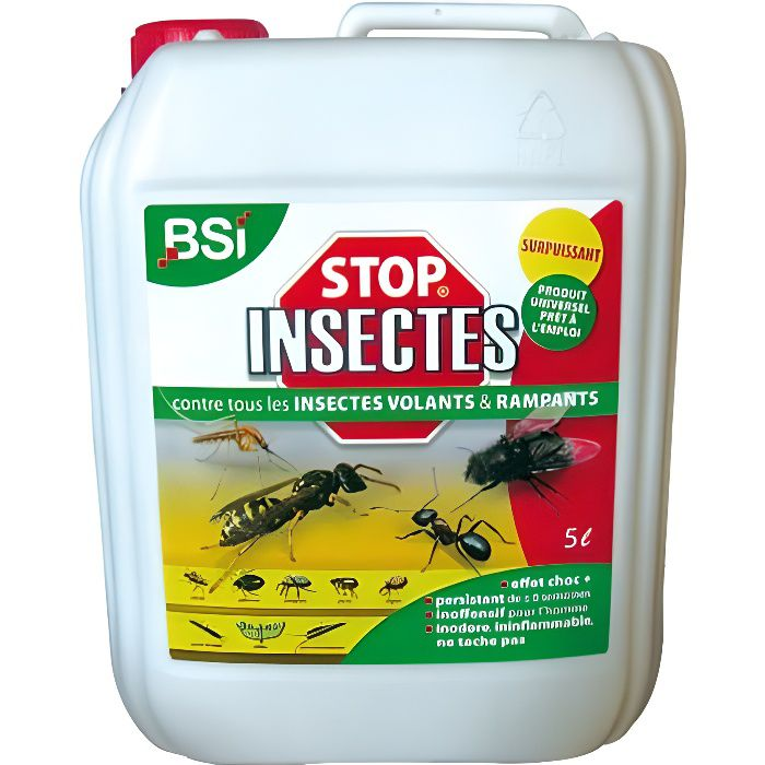 insecticide stop insectes 5 l achat vente produit insecticide insecticide stop insectes. Black Bedroom Furniture Sets. Home Design Ideas