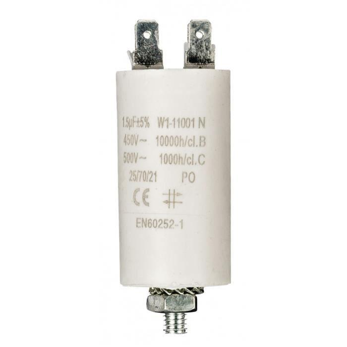 CABLE 1 CONDO CONDENSATEUR DEMARRAGE MOTEUR 450V 4MF
