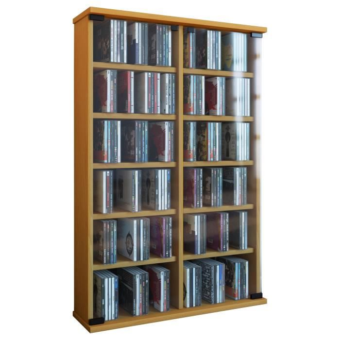 roma tour rangement biblioth que cd dvd 300 cd h tre achat vente biblioth que roma tour. Black Bedroom Furniture Sets. Home Design Ideas