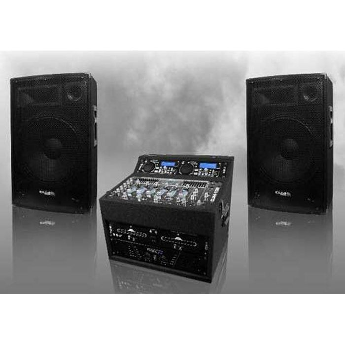 pack sono dj complet 960 w ibiza sound dj 693 pack sono. Black Bedroom Furniture Sets. Home Design Ideas