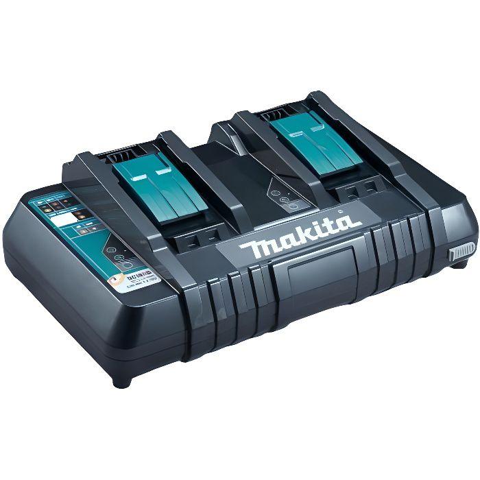 CHARGEUR MACHINE OUTIL MAKITA Chargeur rapide pour 2 batteries Li-ion / N