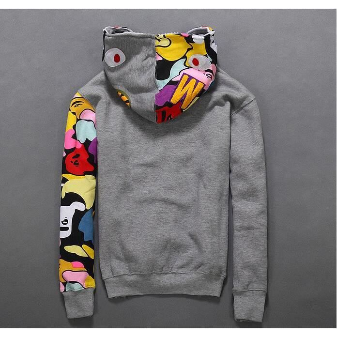 Manteau Sweats Vetement Jacket Homme Shark Femme Pull Bape Hoodie qB4RSfxF