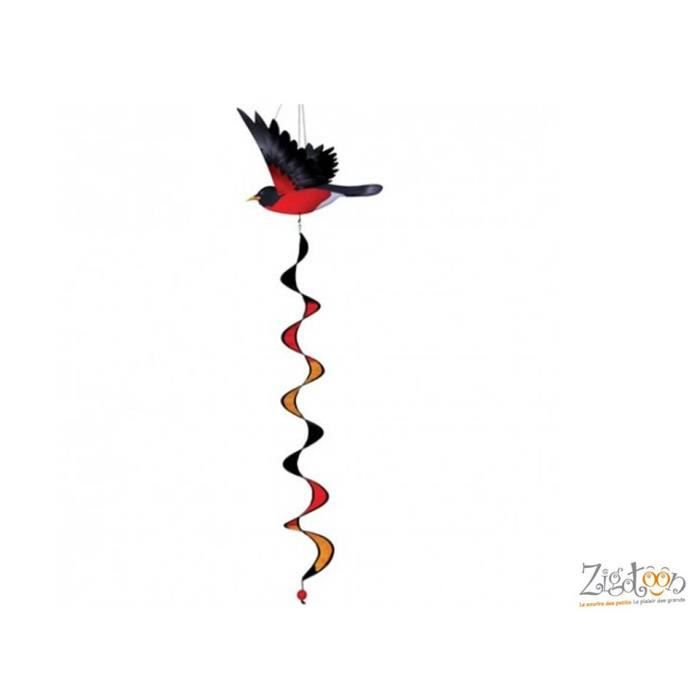 Oiseau rouge gorge d coration int rieur ext rieur twister for Objet de decoration interieur