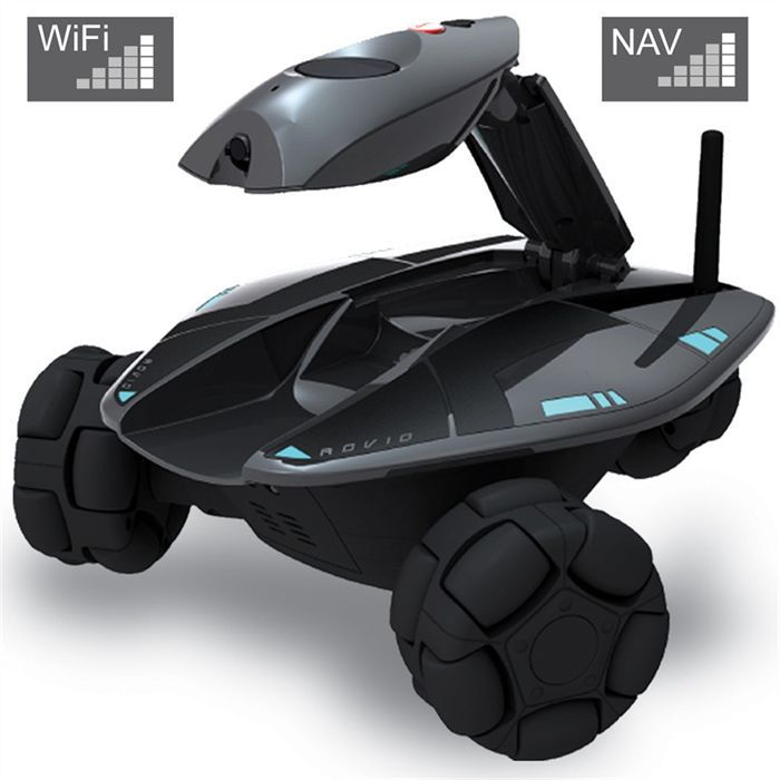 wowwee rovio robot espion pilotable achat vente voiture camion cdiscount. Black Bedroom Furniture Sets. Home Design Ideas