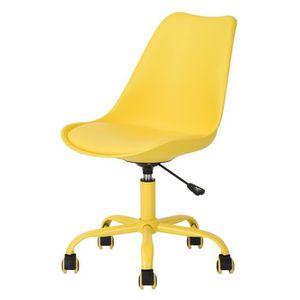 CHAISE DE BUREAU BLOKHUS Chaise de bureau réglable en hauteur - Sim