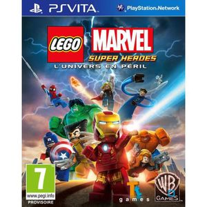 JEU PS VITA Lego Marvel Super Hereos Jeu PS Vita