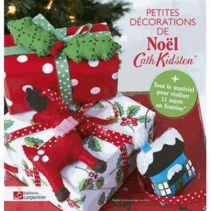 LIVRE LOISIRS CRÉATIFS Petites décorations de Noël