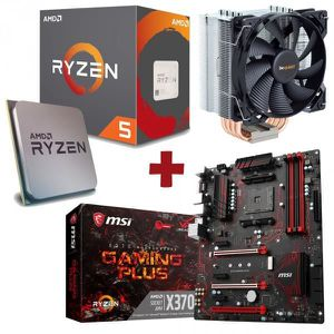 PACK COMPOSANT Kit Evolution AMD Ryzen 5 1600X + MSI X370 GAMING