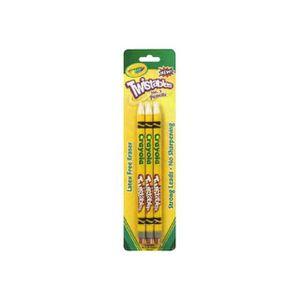 CRAYON GRAPHITE Crayola Twistables Crayon HB rétractable avec gomm