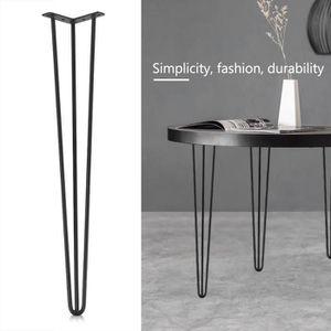PIED DE TABLE PIED DE TABLE 4pcs Pieds de meuble table  en métal