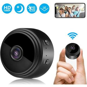CAMÉRA MINIATURE Camera Espion, HD 1080P Portable Mini Camera WiFi
