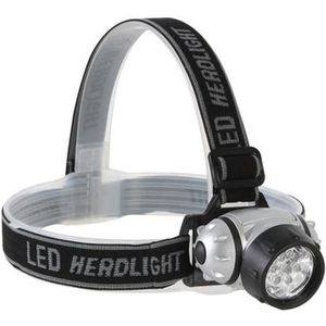 LAMPE FRONTALE MULTISPORT LAMPE FRONTALE  7 LEDS BLANCHES ULTRALUMINEUSES