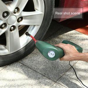 POMPE À VIDE AUTO Portatif Portable Compresseur d'air Pompe de gonfl