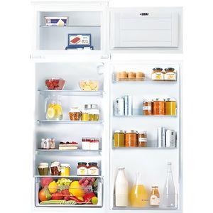 RÉFRIGÉRATEUR CLASSIQUE Réfrigérateur intégrable congélateur en haut CANDY