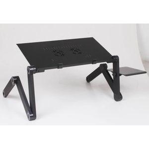 SUPPORT PC ET TABLETTE 48 cm Pliable Table D'ordinateur Portable Ergonomi