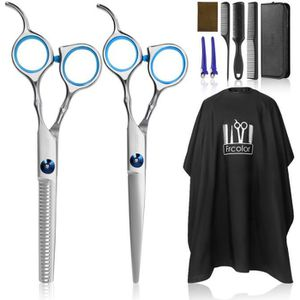 CISEAUX - EFFILEUR Frcolor Ciseaux de coiffure professionnels Outils