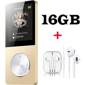 LECTEUR MP3 FULOZO® Lecteur MP3/MP4 16GO Baladeur Multi-foncti